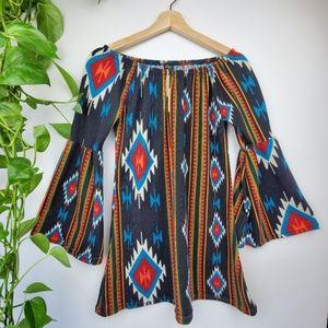 Winwin Tunic  Bell Sleeve Dress
